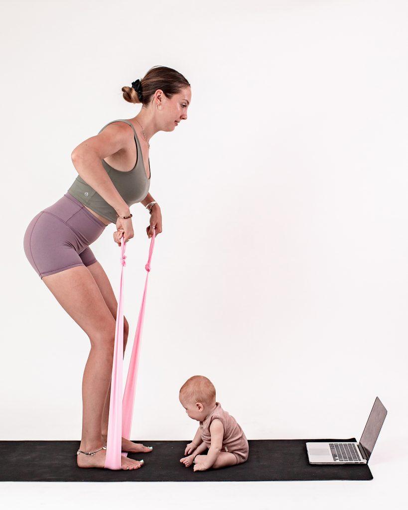 Post Natal Pilates Online Studio Program by Her. Womens health